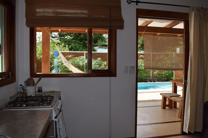 Studio with pool in the centre of Santa Teresa!!