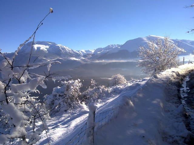 Maison au cœur des Alpes, lacs, randonnées