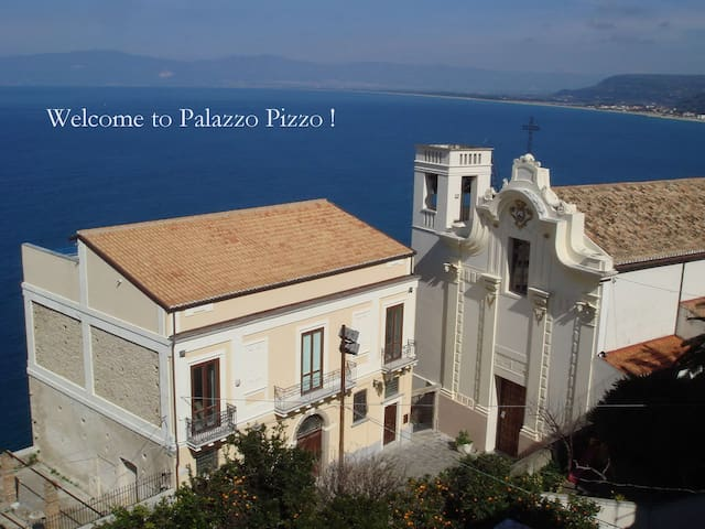 PALAZZO PIZZO between Amalfi and Sicily - Pizzo - Villa