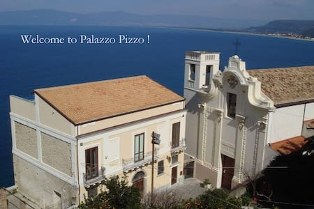 PALAZZO PIZZO Main House for families and friends - Pizzo