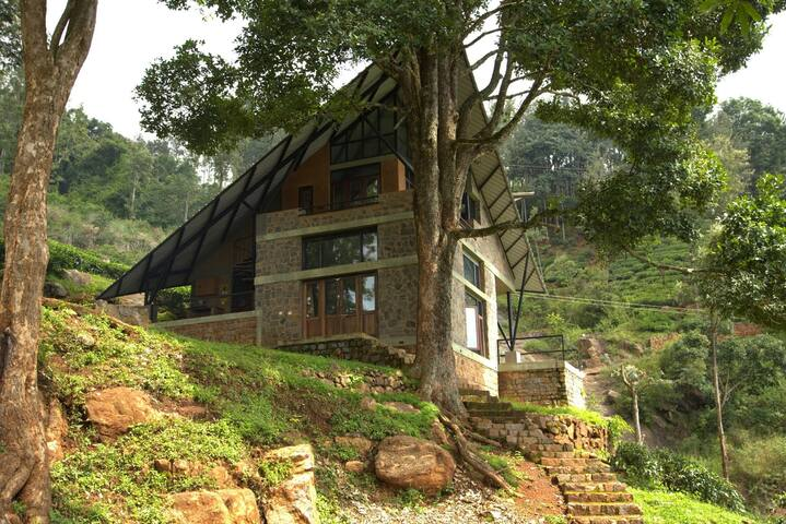 Conde Nast Top 10 Plantation Stay- Waterfall room