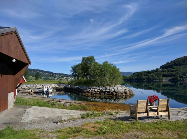Perfect base for hiking and fishing - Sykkylven - Casa