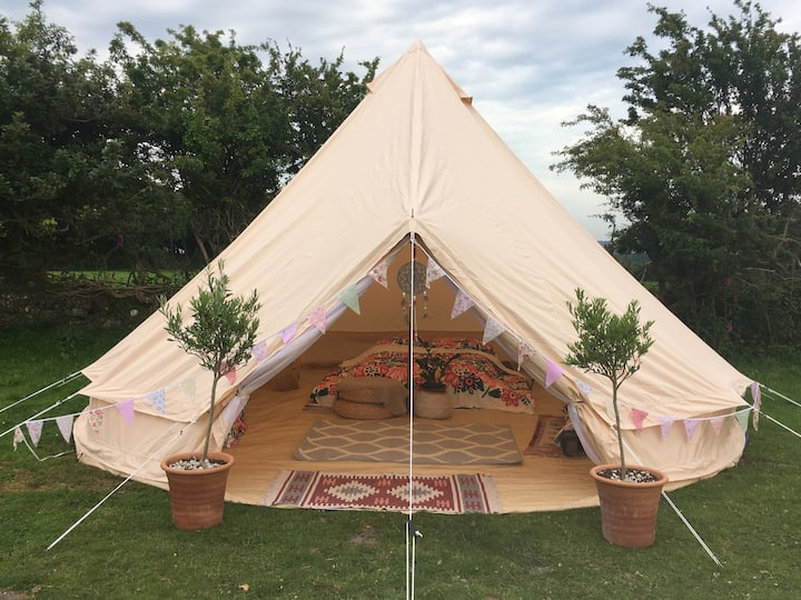 Gorgeous Bell Tent