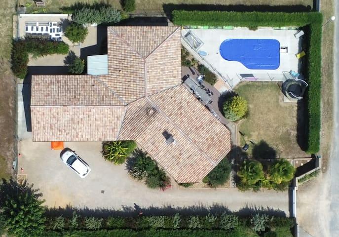Villa familiale au Cœur des Landes