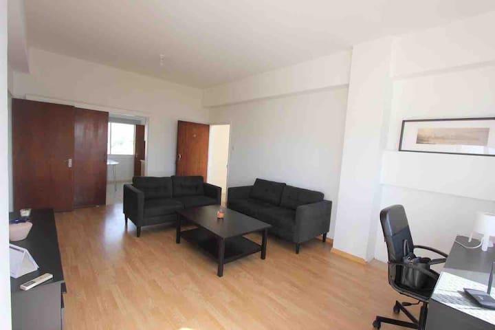 Spacious 2 bedroom flat in Nicosia's center