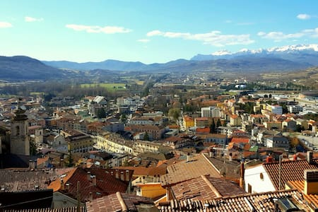 Vista incantevole sulla valle! - Castel di Sangro, Abruzzo, IT - Haus