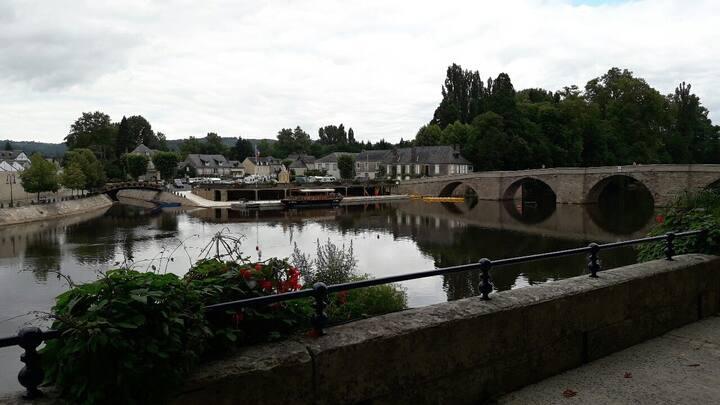 Appart T2 Terrasson pour 2 pers en Dordogne