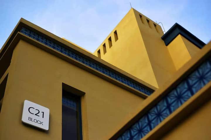 Tintin's Home万科双月湾西班牙迷迭香复式洋房大平台