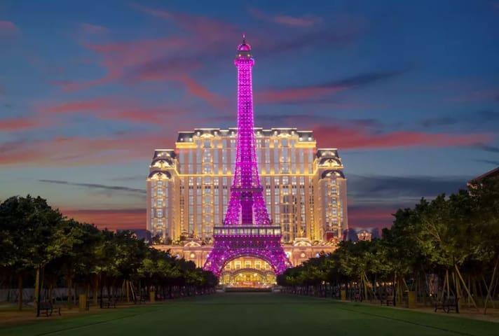 澳门巴黎人双床房Parisian twin-bedroom apartment in Macau