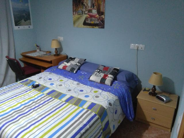 Habitación, escritorio, salón, baño, wifi,desayuno - Albacete - Wohnung