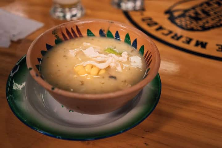 Try the best Ajiaco soup in Bogotá