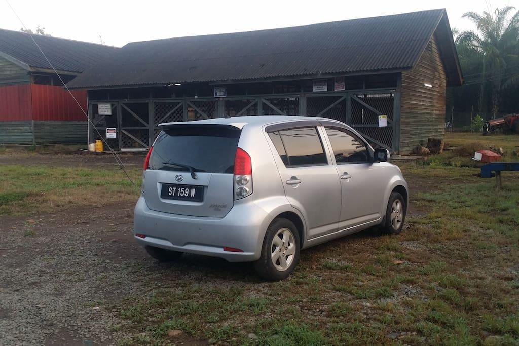 Car rental available
