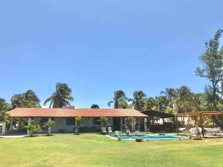 Beach house in Flecheiras