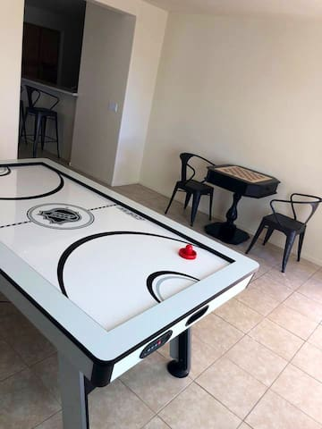 Spring Training w/ Indoor Air Hockey & Ping Pong