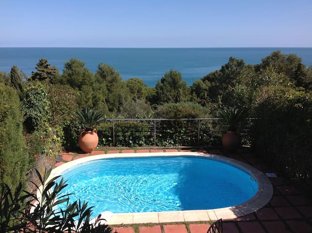 APARTAMENTO CON PISCINA PRIVADA Y VISTA AL MAR!!!! - Llançà - Appartement