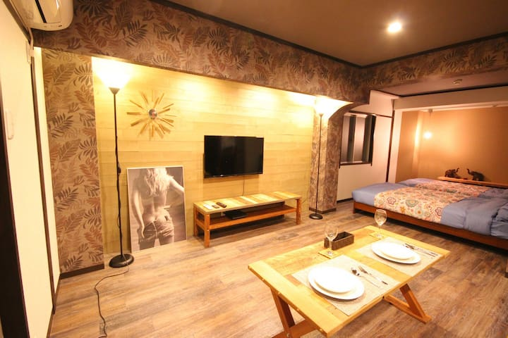 A retreat in the heart of town - Hiroshima-shi naka-ku - Departamento