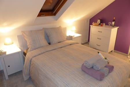 Cozy 4-person bedroom / Disneyland - Saint Germain sur Morin - Rumah