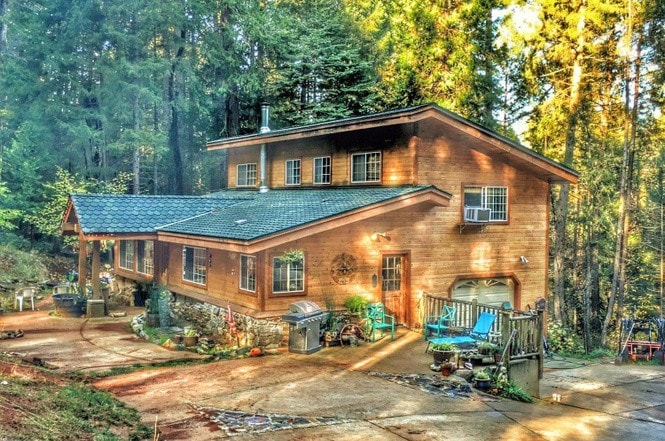 A Lovely Cabin Style Home With Two Master Suites   Houses For Rent In  Foresthill, California, United States