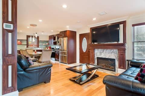 広々とした新しいタウンハウス5ベッド3バスルーム20フィートボストンへ