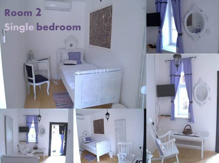 Pannonia Terranova B&B, Single bedroom
