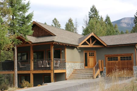 Bright Family Mountain Home in Private Setting - Invermere - Ev
