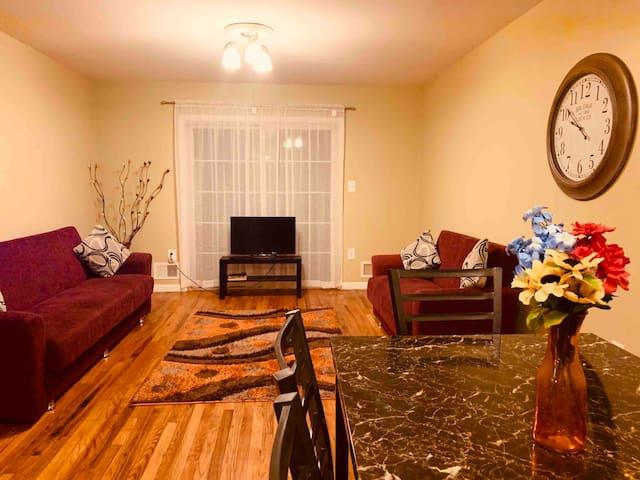 Entire Comfy Apartment Near NYC & EWR