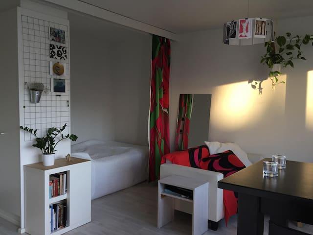 Cozy studio in Hakaniemi - Near City Center