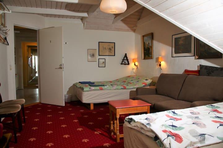 Jagtstuen værelse 1