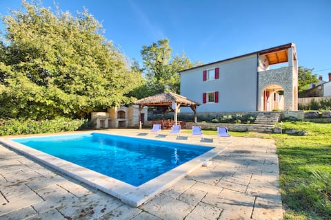 Villa with Pool surrounded with Nature