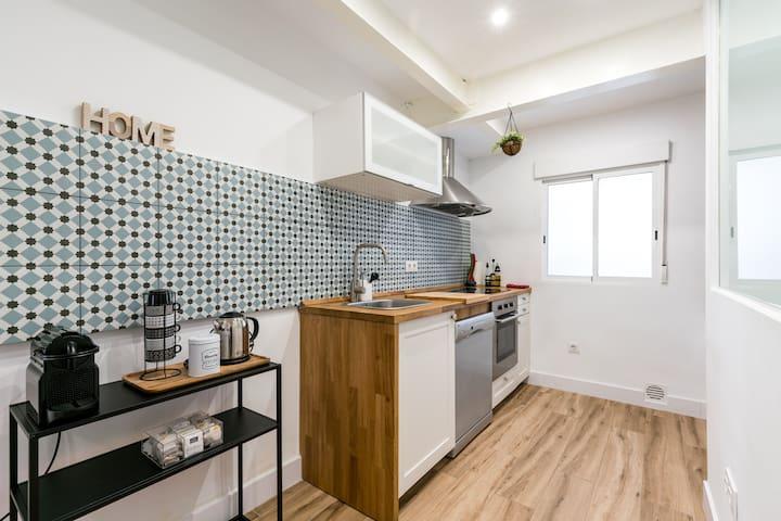 Precioso apartamento de 3 habitaciones y 2 baños