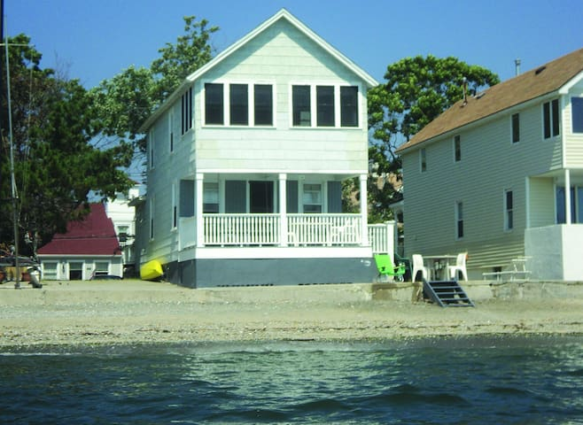Direct waterfront beach cottage - Milford