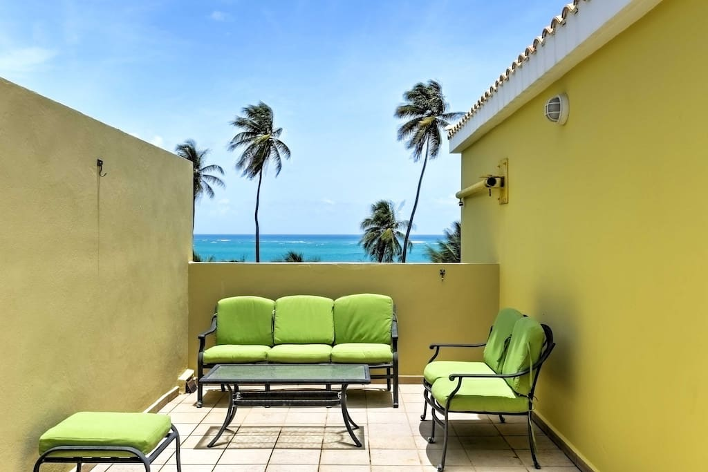 This 3-bedroom, 2.5-bath condo gives you solitude in an amazing beach location.