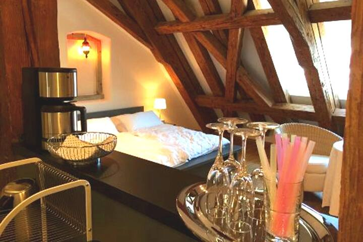Cozy holiday apartment in historic Meersburg