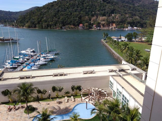 Flat Cob. Porto Marina Montblanc Resort Itacuruçá - Mangaratiba - Apartment