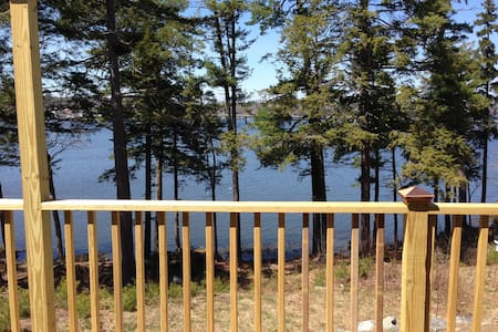 Perfect Mainehidaway with water view Sheepscot Rvr - Edgecomb - Apartament