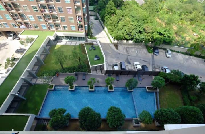 The Parkland Lite(Sukhumvit-BTS Paknam) *FOR RENT*
