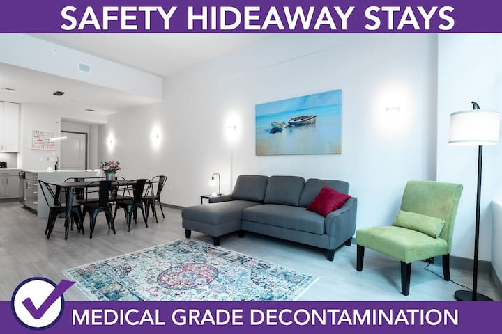 Safety Hideaway - Medical Grade Clean Home 106