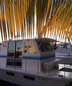 Cozy Couples Getaway Boat In Paradise - Tavernier