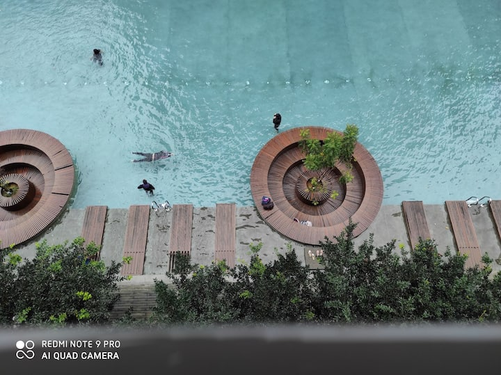 HABIB URBAN HOMESTAY Swimming Pool View