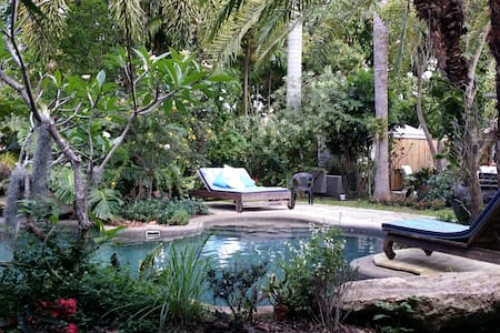 Miami tropical garden loft and pool - Miami - Loft