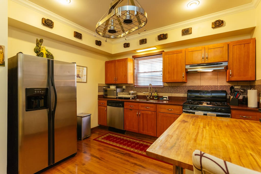 Your well equipped kitchen when you need it...Nice open plan with plenty of light