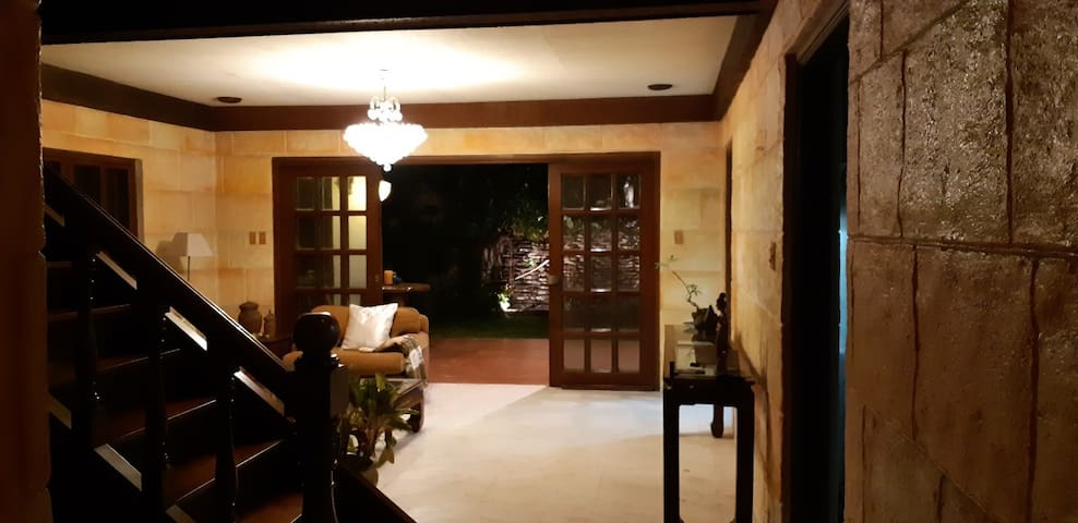 Lovely home and garden in secured QC Subd