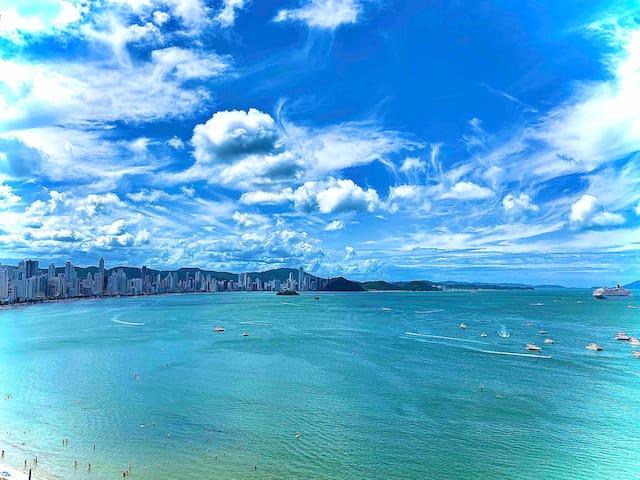 Apto 1302 Com Vista p/ Mar Balneário Camboriú