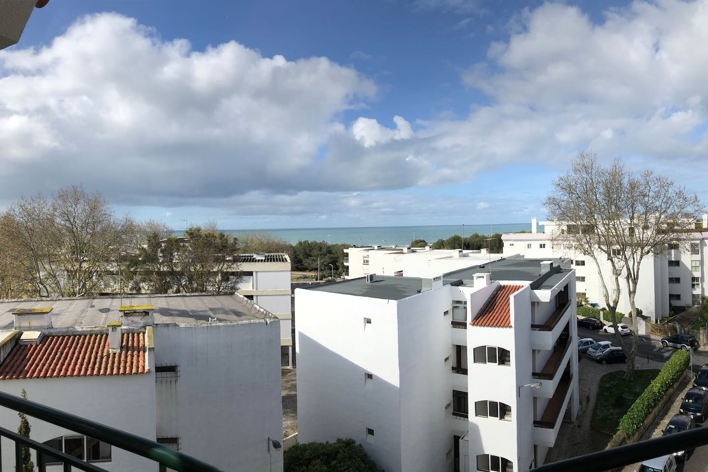 Vue from the balcony