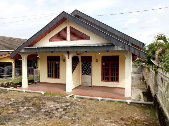 Rumah Kontrakan seblah Chevron Duri Riau