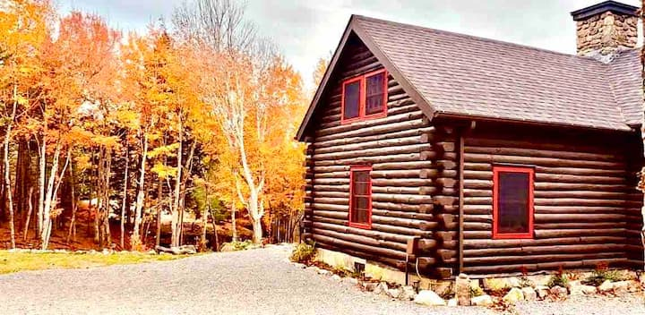 40 Acre Cabin w/ Private Trails Near Acadia