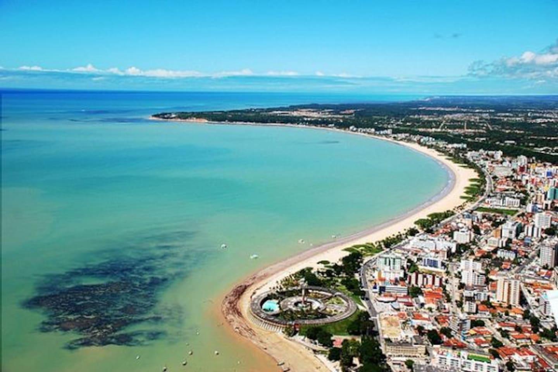 Vista aérea da Praia de Tambaú