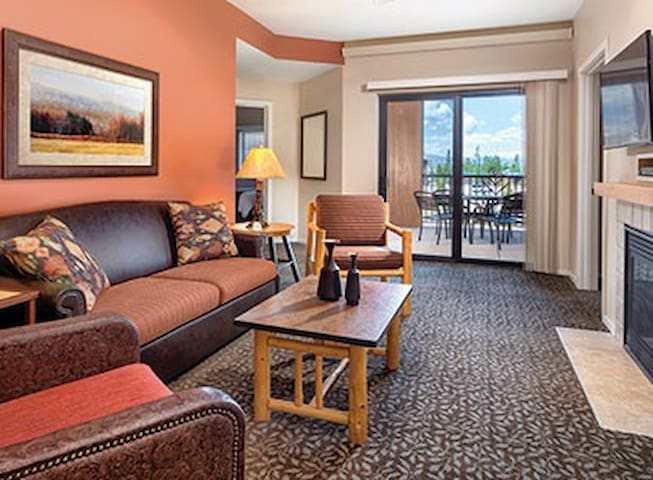 W Yellowstone 2BR Resort Free WiFi! - West Yellowstone - Villa