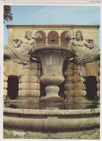 giardini di Palazzo Farnese