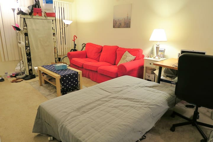 Nice and safe room for rent - Daly City - Lejlighed